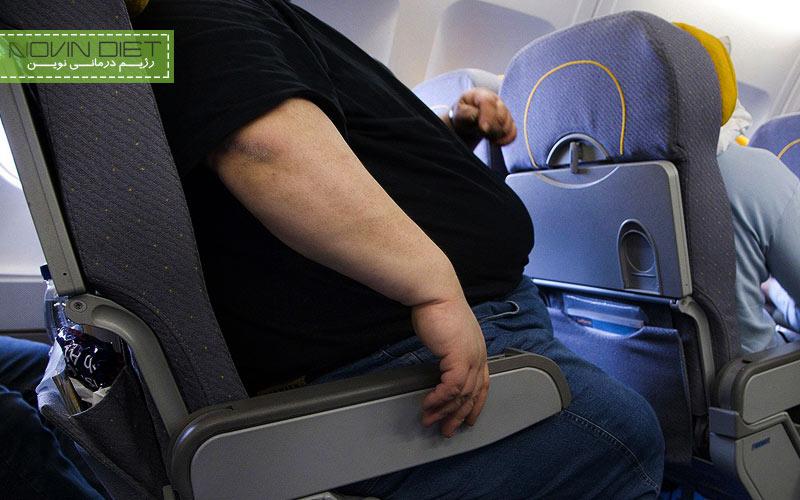 چاقی در مسافرت
