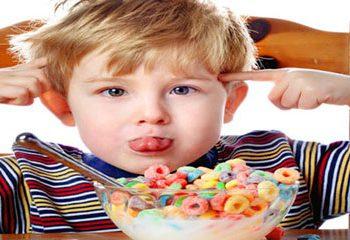 کودکان مبتلا به بیش فعالی و اختلال در الگوهای غذا خوردن