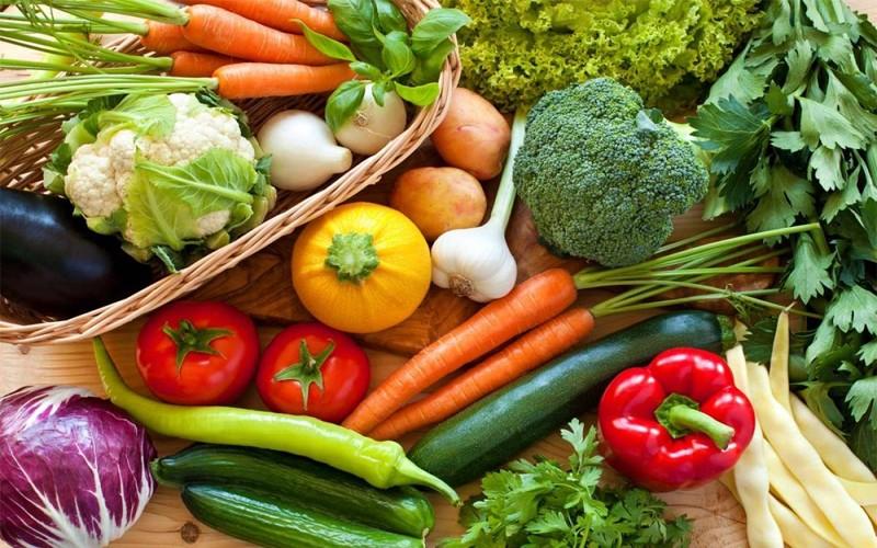سبزیجات و تامین آب بدن