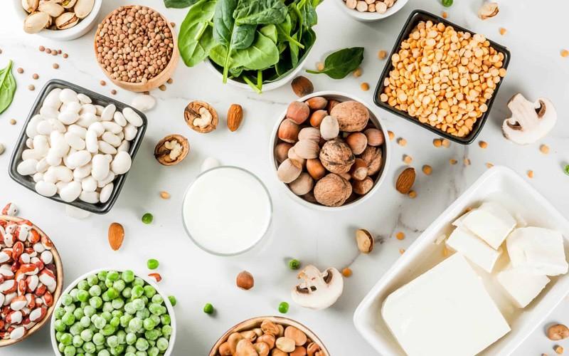 از منابع پروتئین گیاهی به جای پروتئین موجود در گوشت
