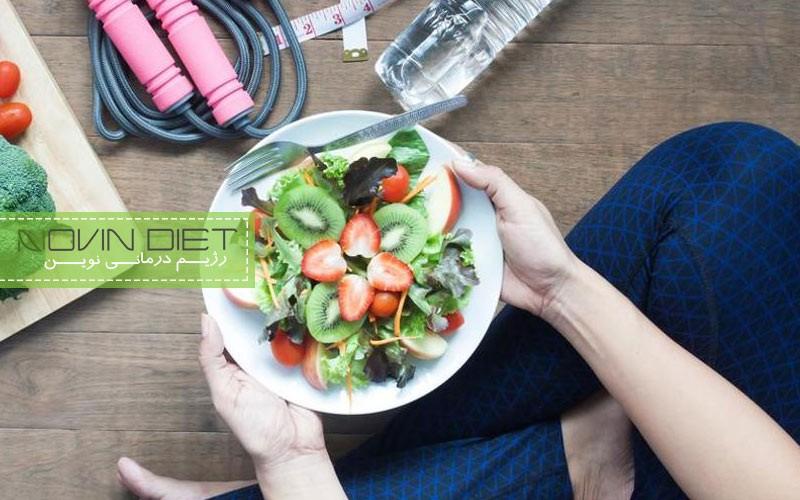 پرخوری بعد ورزش و موانع کاهش زن